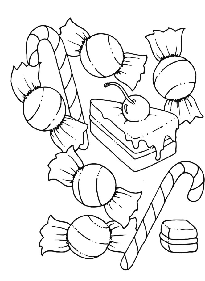 printable candyland coloring pages me - Candyland Coloring Pages