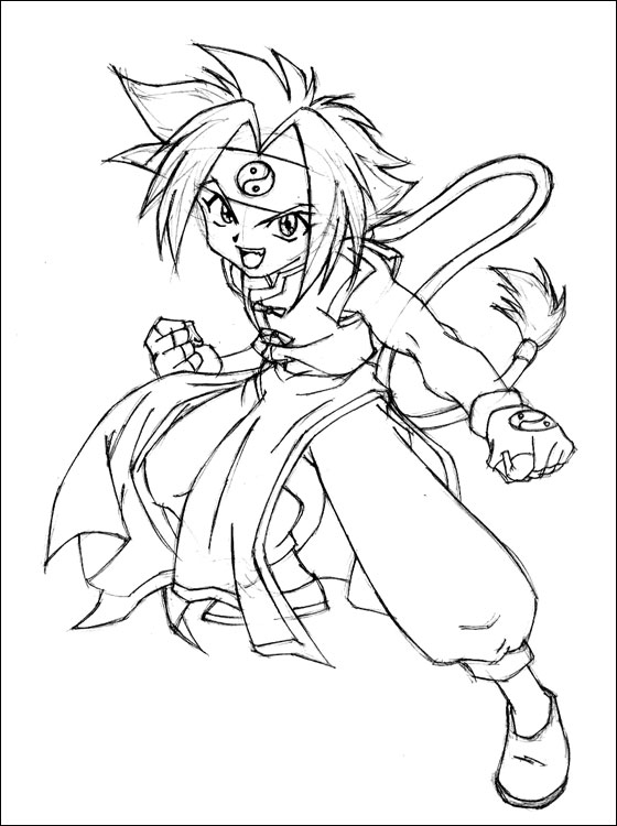 Free Coloring Pages Of Libra Beyblade