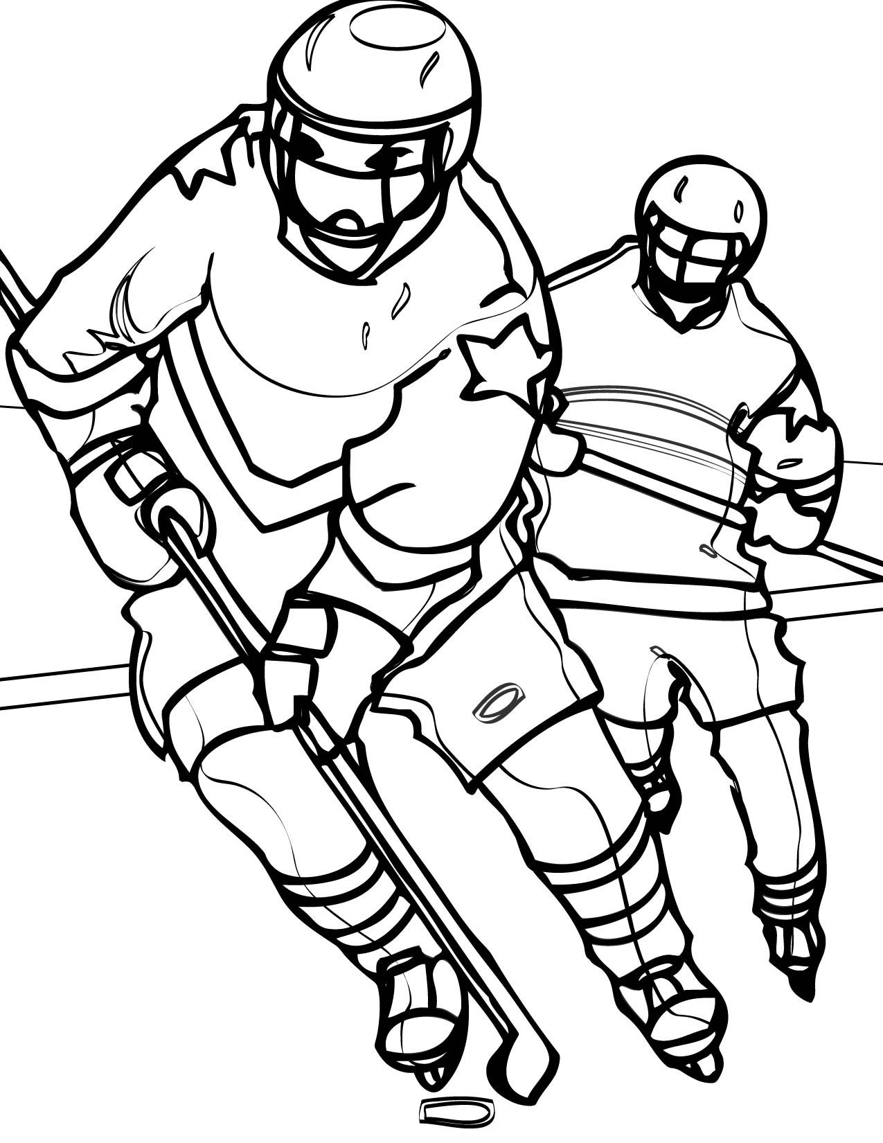 Free coloring pages of sports logos