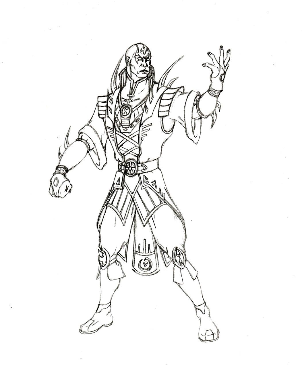 Best Mortal Kombat Coloring Pages Scorpion Free Printable