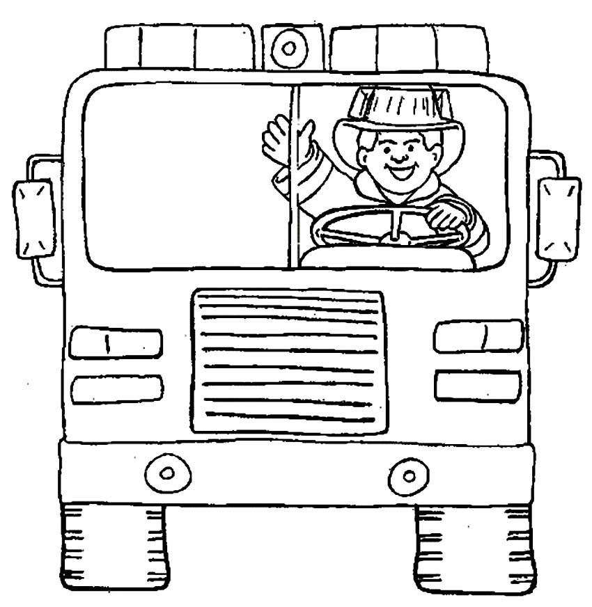 Printable Firefighter Coloring Pages Coloringme Com