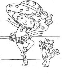 shortcake coloring pages printable strawberry shortcake ...