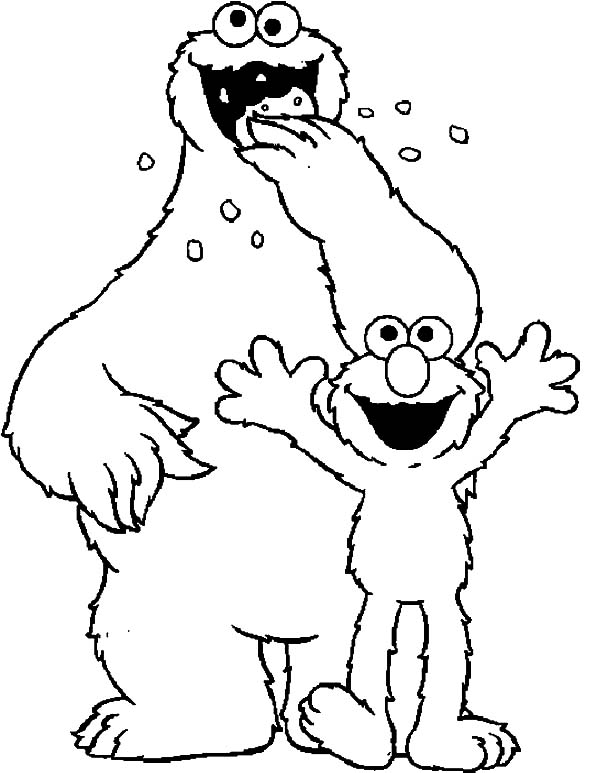 25 Elmo Christmas Coloring Pages Printable