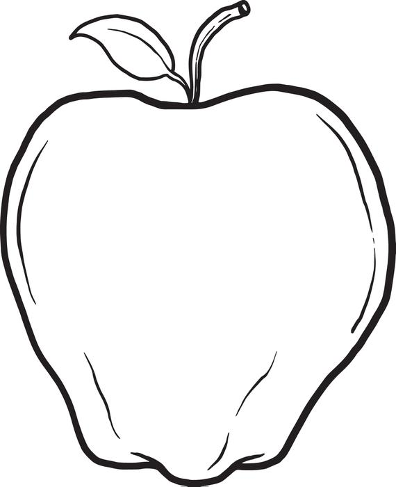 Printable Apple Coloring Pages Coloringme Com