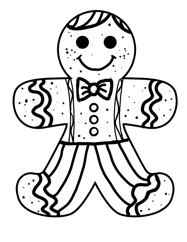 gingerbread man coloring pages coloring pages