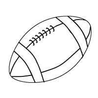 Ncaa Football Coloring Pages Printable Coloring Pages