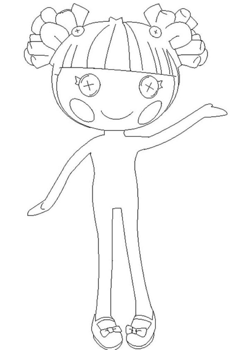 Printable Lalaloopsy Coloring Pages Coloring Me