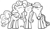 My Little Pony Printable Coloring Sheets Coloring Pages