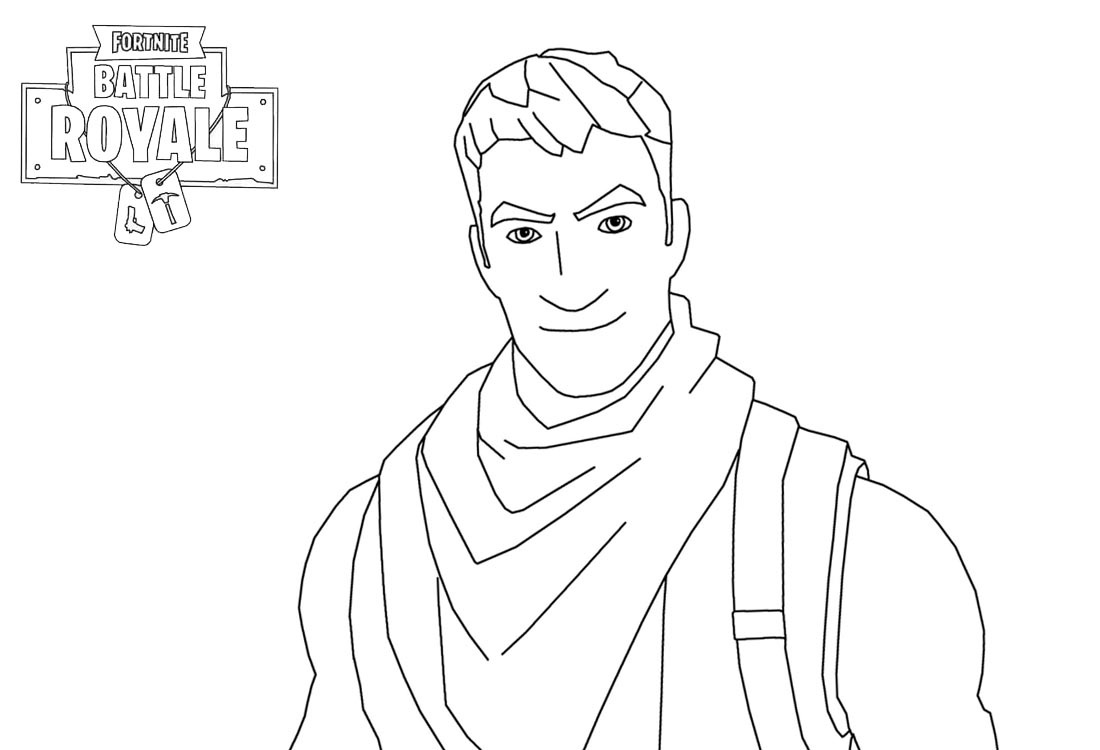 Amazing Fortnite Coloring Pages Characters Survivalist