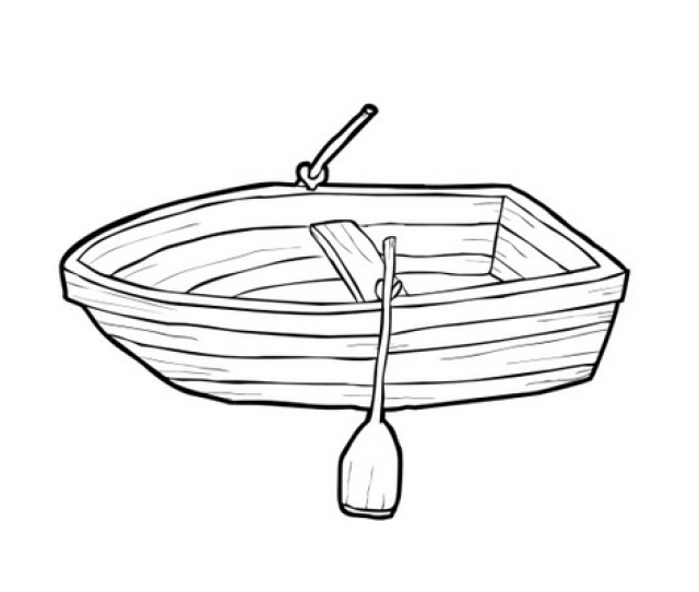 Small Row Boat Coloring Page Free Printable Coloring Pages For Kids