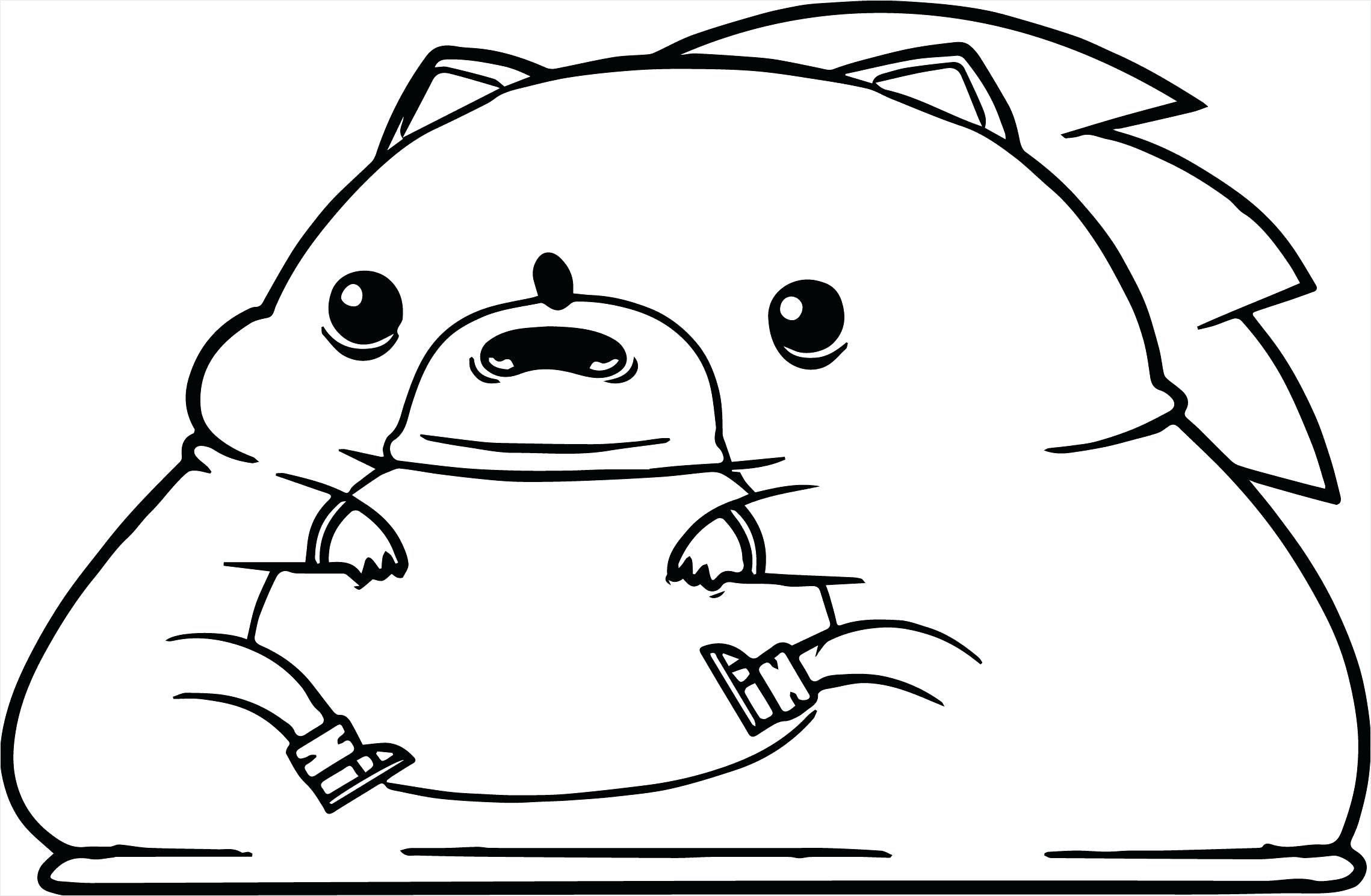 Super Fat Sonic Coloring Page