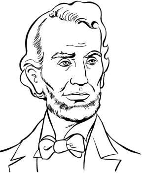 US President Lyndon Johnson Coloring Page & Coloring Book