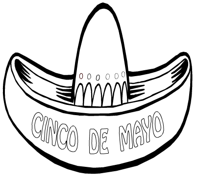 Cinco De Mayo Coloring Page Amp Book For Kids