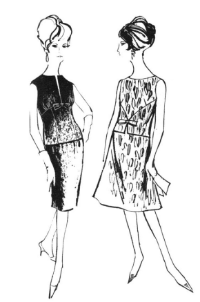 Fashion Models Coloring Page & Coloring Book