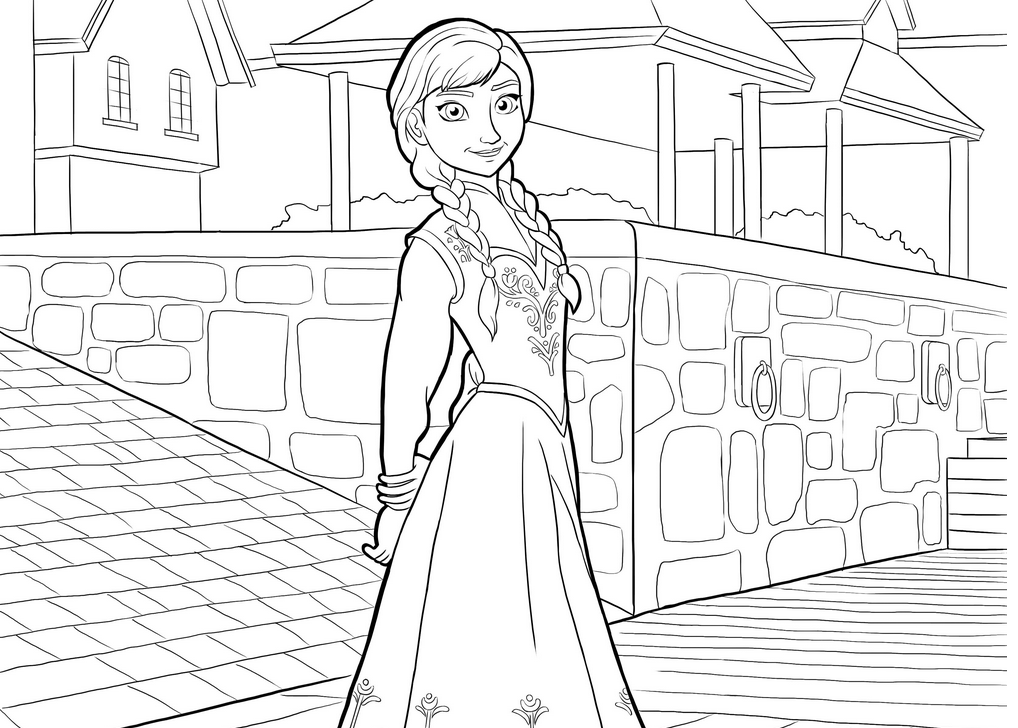 Frozen Coloring Pages & Coloring Book