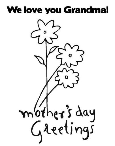 Printable grandma-mothers-day-coloring-page
