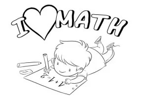 Math : Math Coloring Page, Math Coloring Page, Addition