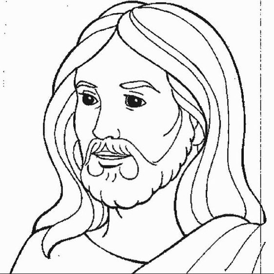 Jesus Coloring Page & Coloring Book