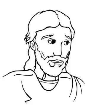 Jesus Second Coming Coloring Page & Coloring Book