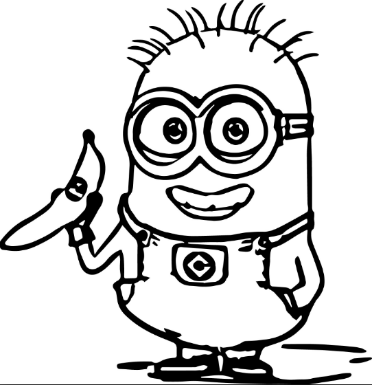 Minions Coloring Page & Coloring Book