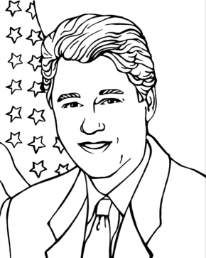 George Washington Coloring Page & Coloring Book