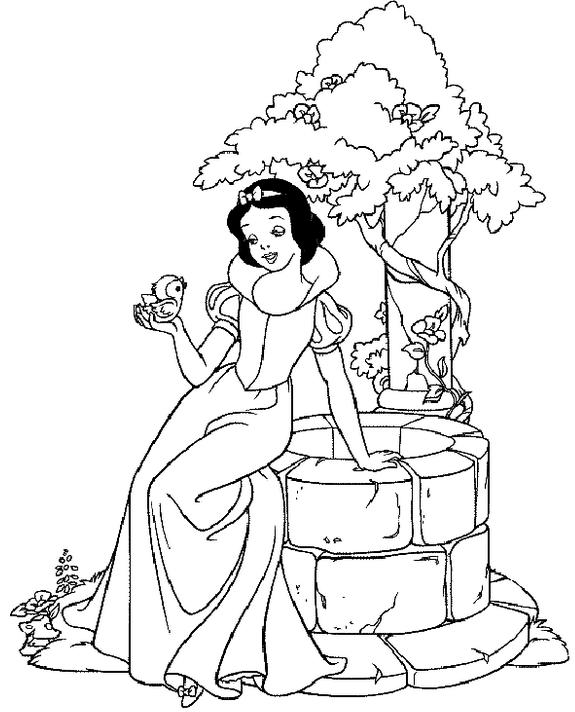 Princess Coloring Page & Coloring Book