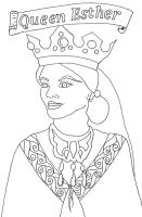 Koningin Esther Kleurplaat Kleurplaat Esther Wordt ...
