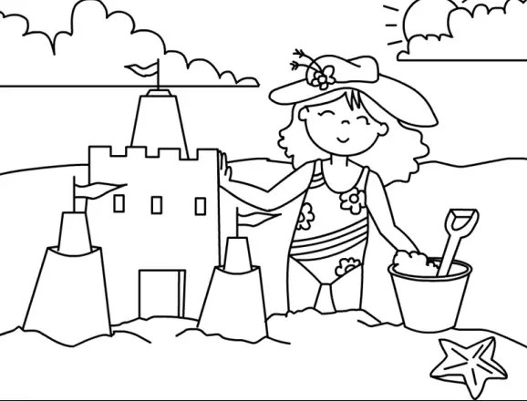Cockatiel Coloring Page For Children