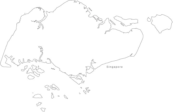 Singapore Coloring Page & Coloring Book