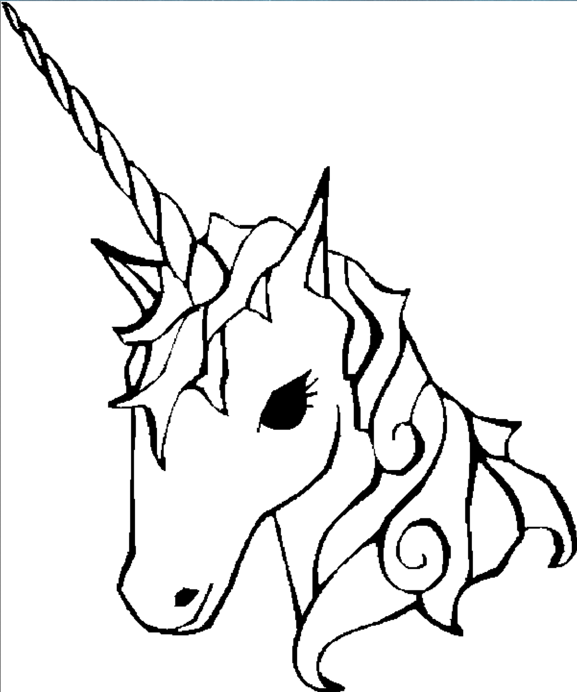 hight resolution of free unicorn maze coloring pages carousel horse silhouette full size carousel horse