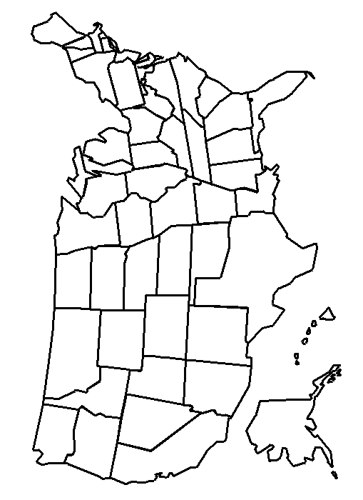 Map Of Usa Coloring Page Map Of Coloring Page Photo