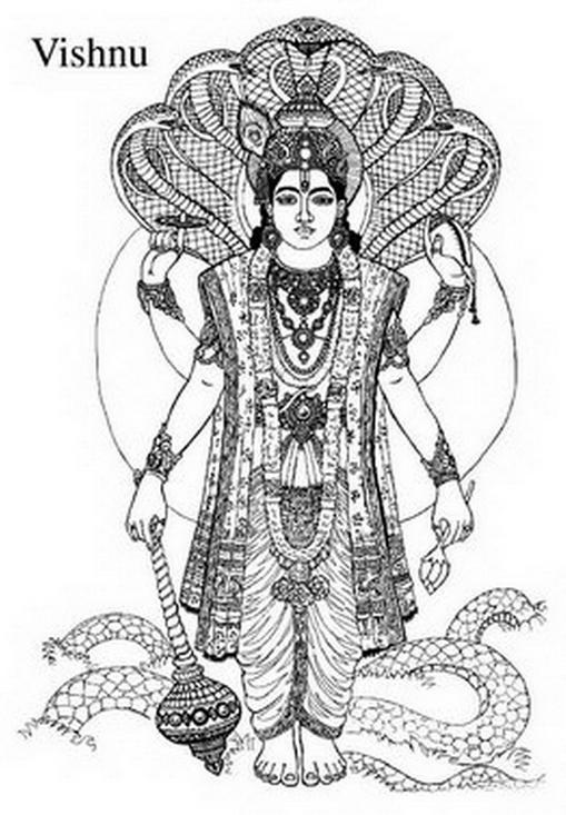 Vishnu Amp Coloring Book