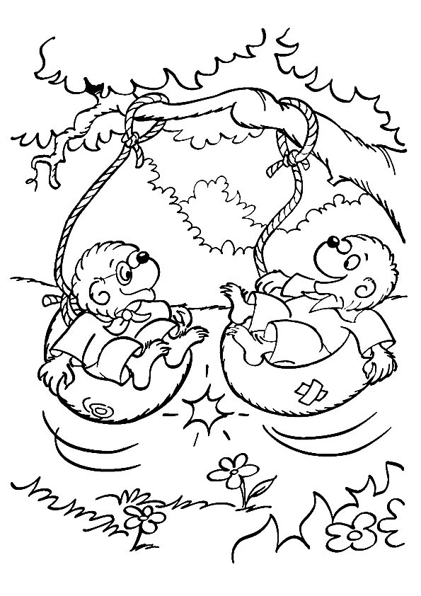 bears coloring pages # 55
