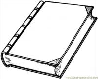 New Interesting Book Coloring Page - Free Books Coloring ...