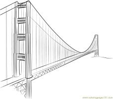 Golden Gate Bridge Yang Ming Line Coloring Page   Free ...