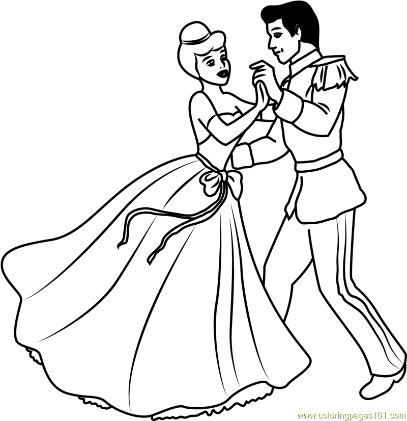 Free Coloring Pages Of Ugly Sisters Cinderella