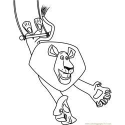 Madagascar 3: Europe's Most Wanted Coloring Pages