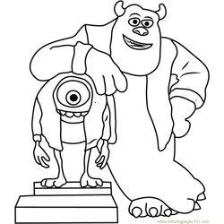 Monsters, Inc. Coloring Pages