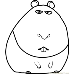 The Secret Life of Pets Coloring Pages