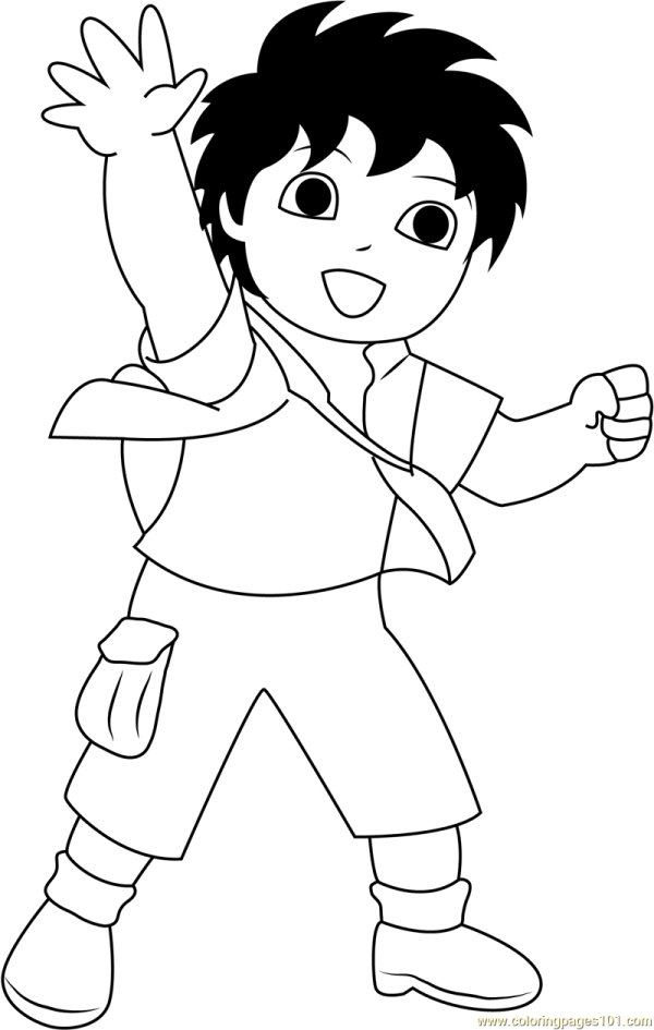 Diego Coloring Page - Free Pages