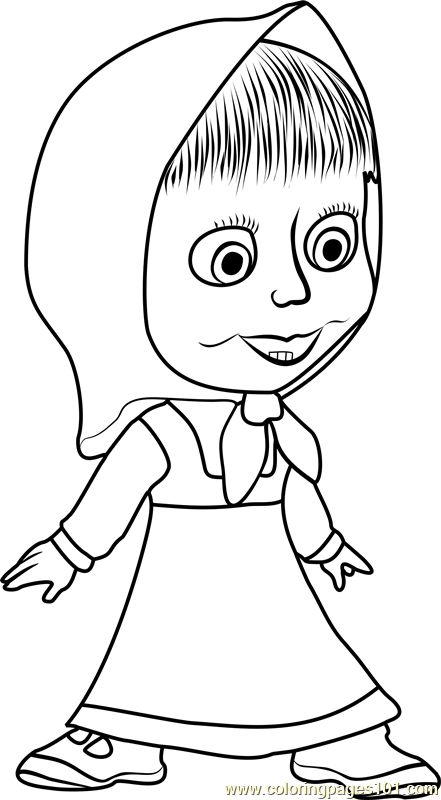 Russian Alphabet Coloring Pages Free. Russian. Best Free