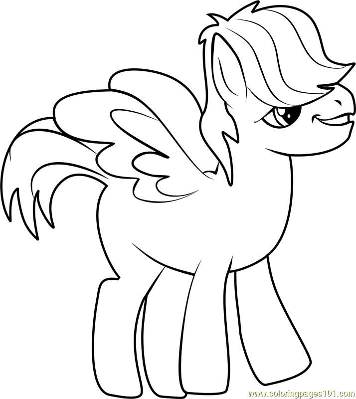 Matilda Coloring Page Free My Little Pony