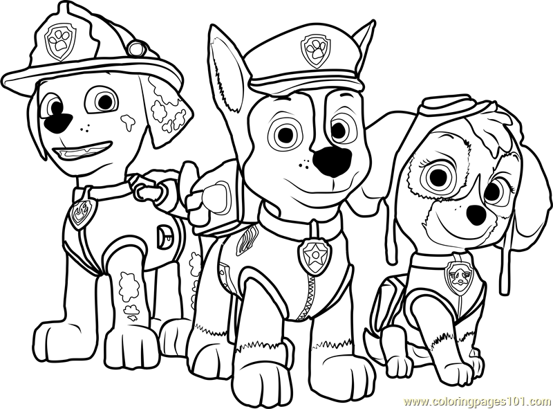 Cozy Paw Patrol Mighty Pups Drawing And Coloring For Kids 12 Ofertasvuelo