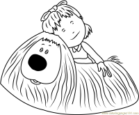 Coloring Page First Name Dylan