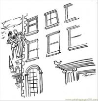 √ Awesome Apartment Building Coloring Pages