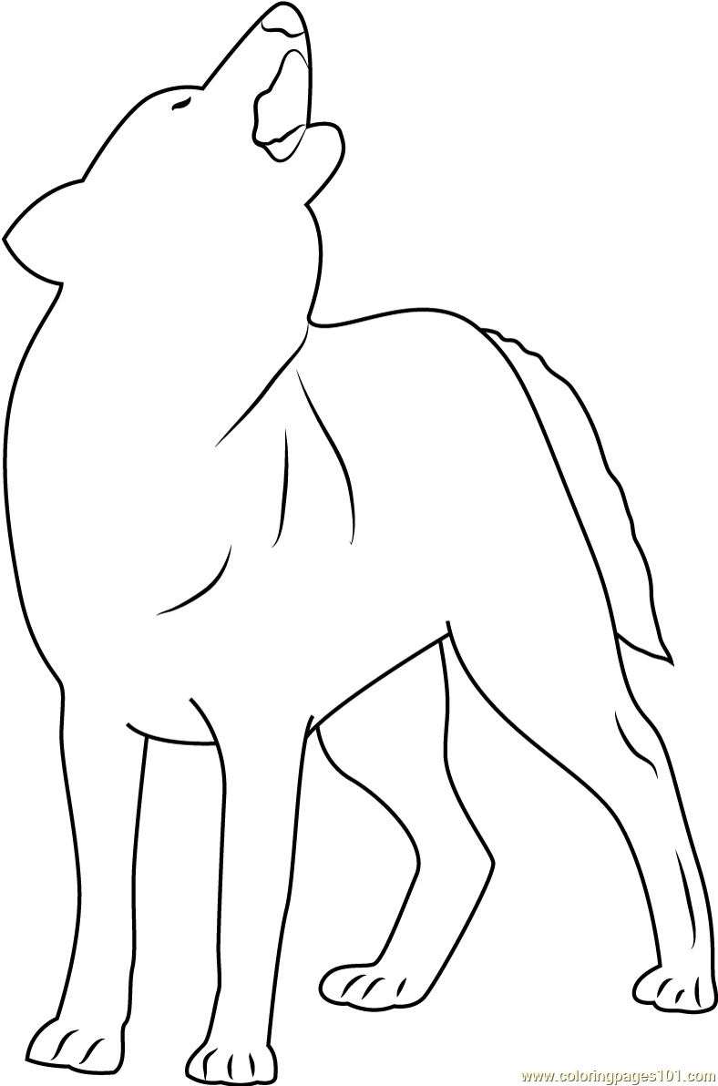 Indian Wolf Coloring Page Free Wolf Coloring Pages