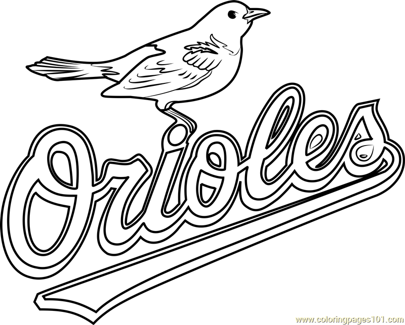 How To Draw Baltimore Orioles Baseball Logos