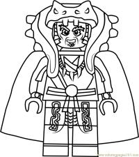 Ninjago Chen Coloring Page - Free Lego Ninjago Coloring ...