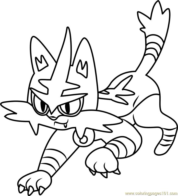 Pokemon Kleurplaten Incineroar Malvorlagen Pokemon Mewtu