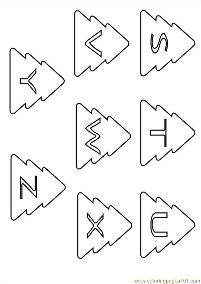 Coloring Pages Christmas Letters Source 4r0 (Education
